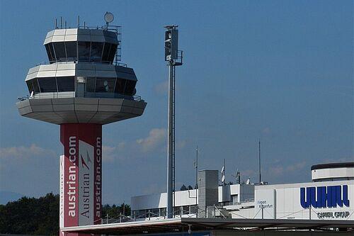 Flughafen Klagenfurt Abflug