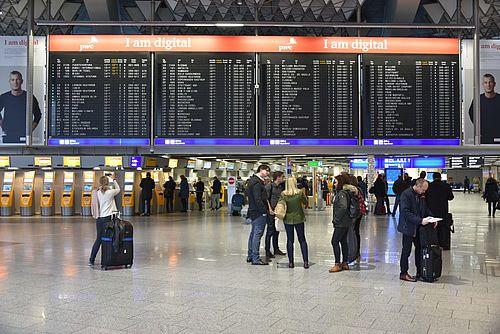 Flughafen Frankfurt Parkplatzreservierung