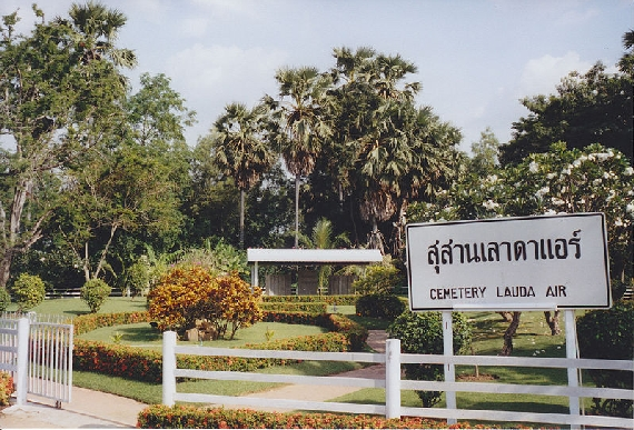 "Der ""Lauda Air Friedhof"" in Thailand - Foto: Daduschu / Wiki Commons"