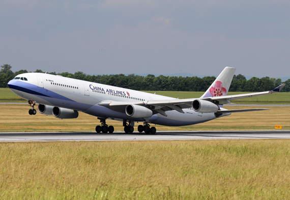 China Airlines Airbus A340 - Foto: Max Hrusa