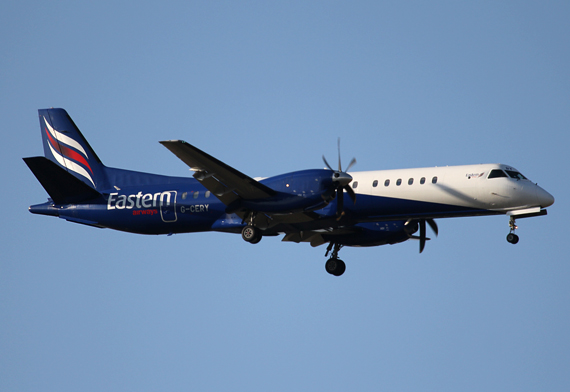 Eastern Airways Saab 200 (G-CERY)