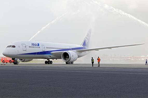 All Nippon Airways Boeing 787 - Foto: Boeing