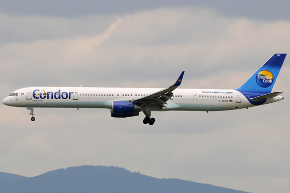 Condor [ACHTUNG ALTE LIVERY] Boeing 757-300 - Foto: Austrian Wings Media Crew