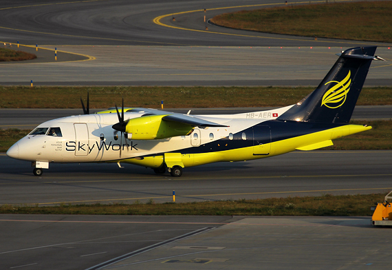Dornier Do 328 von SkyWork – Foto: Max Hrusa / Austrian Wings
