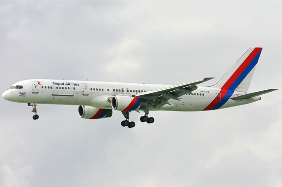 Nepal Airlines - Foto: Toby Lam/Wikimedia Commons