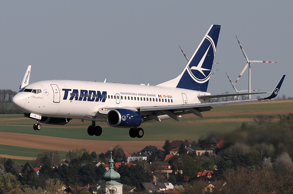 TAROM Boeing 737-700 - Foto: Austrian Wings Media Crew