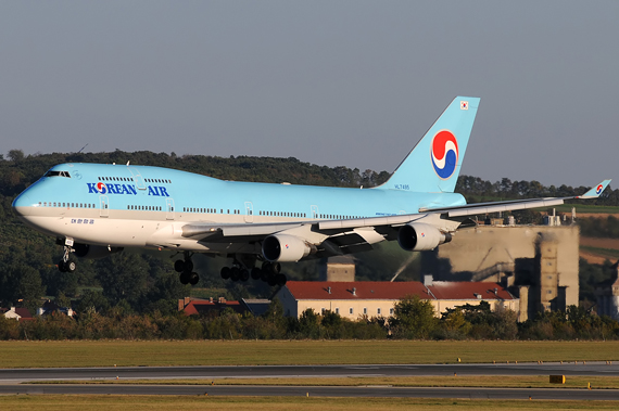 Korean Air Boeing 747-400 - Foto: Austrian Wings Media Crew