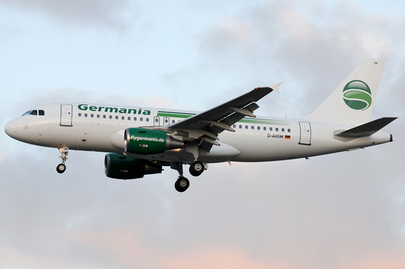Germania Airbus A319- Foto: Austrian Wings Media Crew