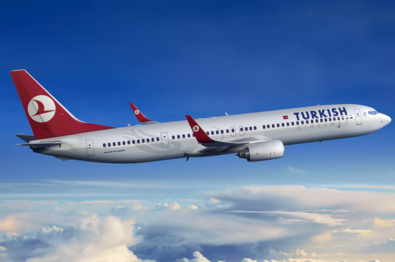Turkish Airlines 737-900ER - Grafik: Boeing