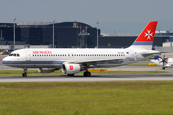 Air Malta Airbus A320 - Foto: Austrian Wings Media Crew