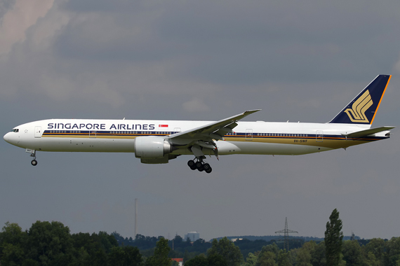 Singapore Airlines Boeing 777-300ER - Foto: RR / Austrian Wings
