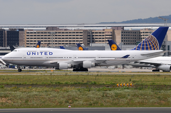 United Boeing 747-400 - Foto: Chris Jilli