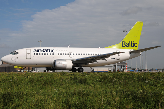 Air Baltic Boeing 737 - Foto: Austrian Wings Media Crew