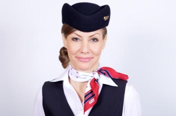 Männliche Flugbegleiter