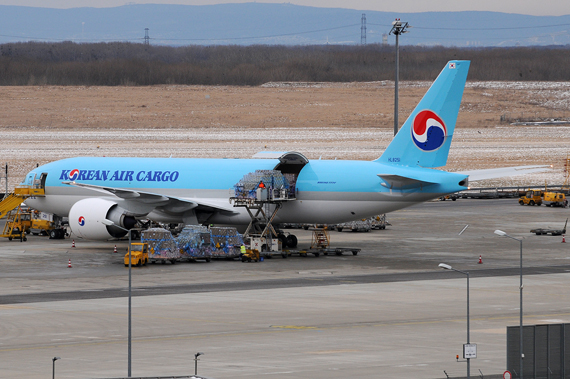Boeing 777F von Korean Air Cargo - Foto: Chris Jilli