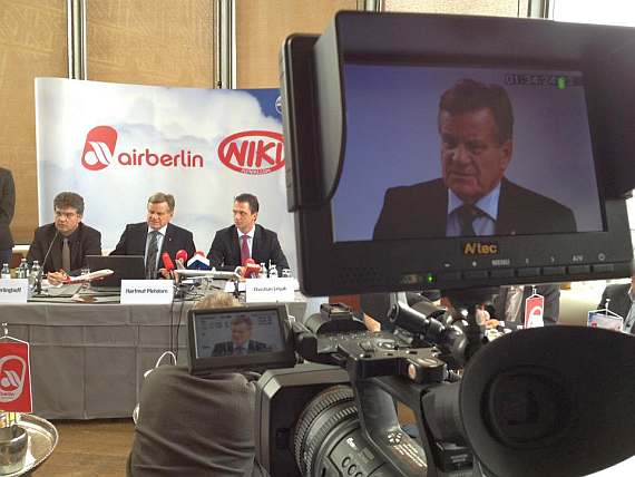 Air Berlin-CEO Hartmut Mehdorn - Foto: Austrian Wings Media Crew