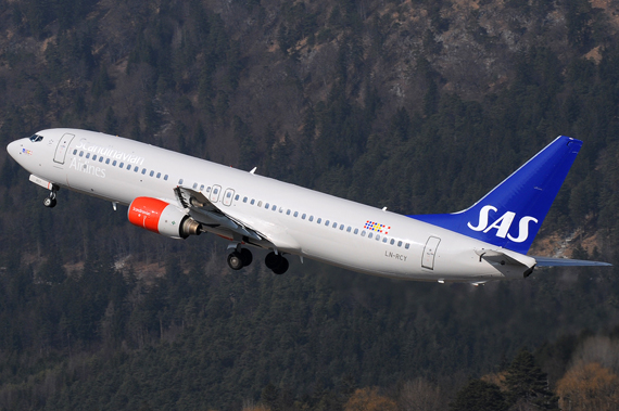 Scandinavian Airlines Boeing 737-800- Foto: Austrian Wings Media Crew