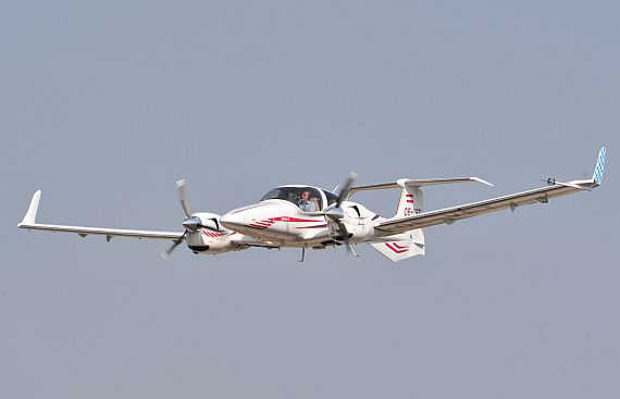 DA 42 Twin Star im Flug (Symbolbild) - Foto: Austrian Wings Media Crew