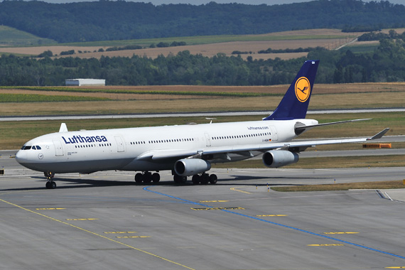 Lufthansa A340 in Wien - Foto: Austrian Wings Media Crew