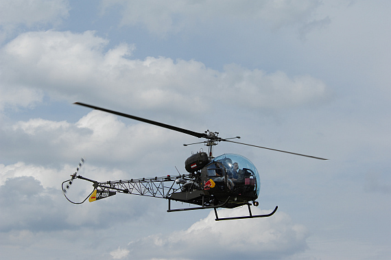 Bell 47 der Flying Bulls