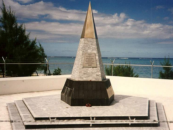 "Denkmal für die Opfer auf Mauritius - Foto: Courtesy FB-Group ""What happened to the 'Helderberg'"""