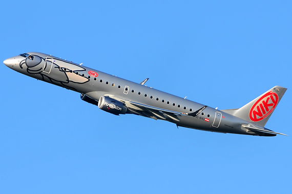 NIKI Embraer 190 - Foto: Austrian Wings