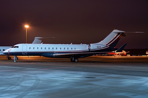 Bombardier BD-700-1A10XRS (N6D), Jet Aviation Business Jets - Foto: Stefan Gschwind