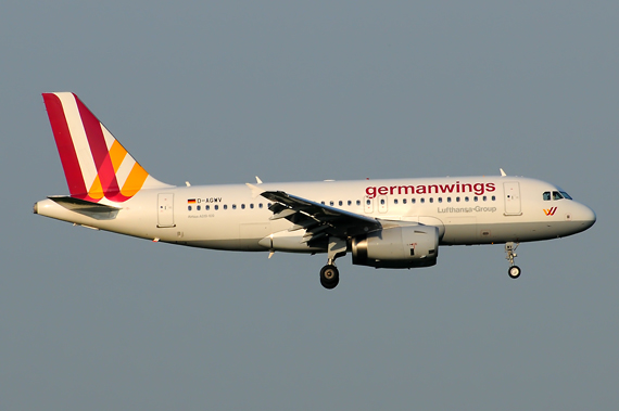 Germanwings Airbus A319 - Foto: Austrian Wings Media Crew