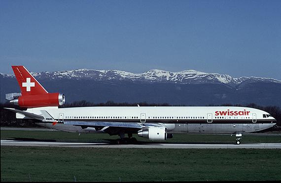 MD-11 HB-IWF der Swissair - Foto: Werner Fischdick