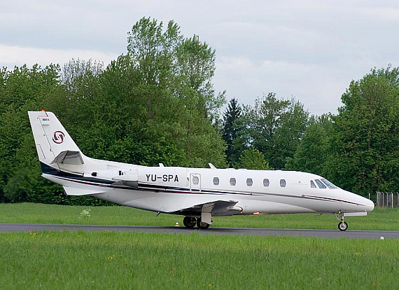 Cessna 560XLS YU-SPA der Prince Aviation