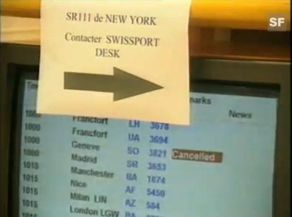 Abholer von auf SR 111 gebuchten Passagieren werden gebeten, die Fluglinie zu kontaktieren - Foto: Screenshot YouTube