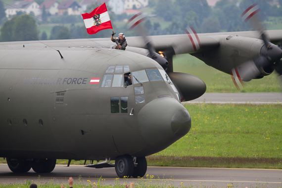 Hercules auf der Airpower - Foto: Peter Hollos