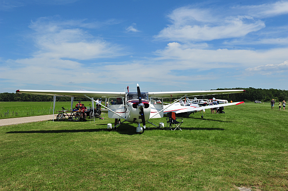 Static Display beim Flugplatzfest Stockerau