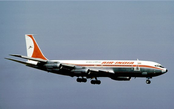 Air India Boeing 707-300 1976 BSL Eduard Marmet