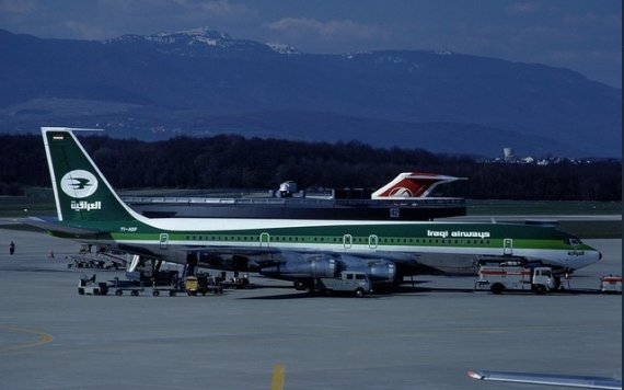 Iraqi Airways Boeing 707-300 GVA 1979 Marmet