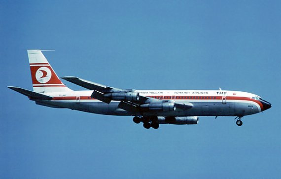 Boeing 707-100 von Turkish Airlines