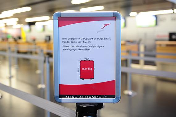 G4s Kontrolliert Handgepäck Der Aua Passagiere Austrian Wings