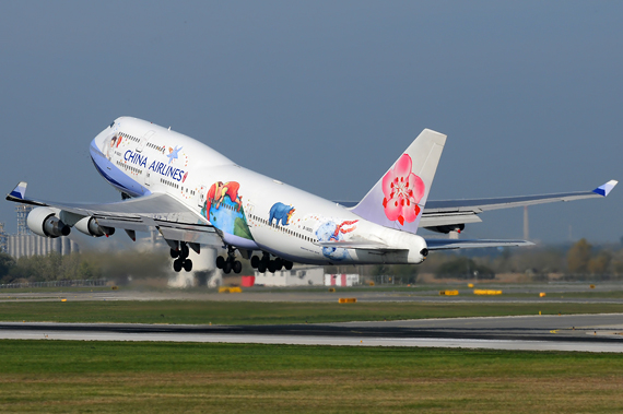 China Airlines Boeing 747-400 - Foto: Austrian Wings Media Crew CJ
