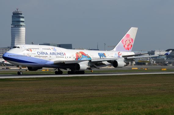 China Airlines Boeing 747-400 - Foto: Austrian Wings Media Crew