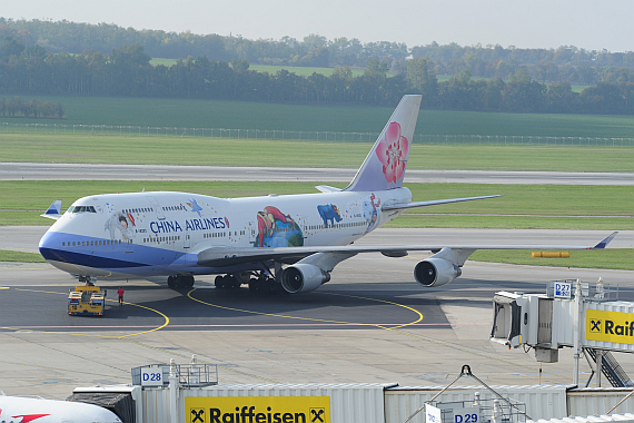 China Airlines Boeing 747-400 B-18203 Jimmy Sonderbemalung_6 Foto PA Austrian Wings Media Crew