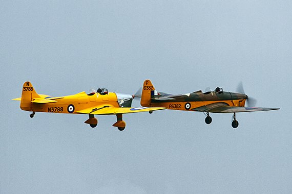 Duxford 2013 Magister_Duo Phil Weber