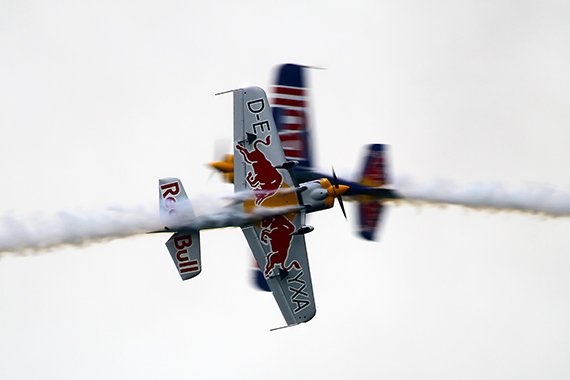Duxford 2013 Red Bull Steve Jones und Paul Bonhomme Phil Weber