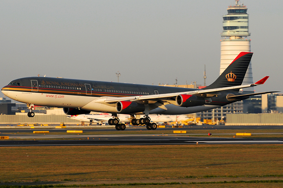 Royal Jordanian Airbus A340-200 - Foto: Austrian Wings Media Crew