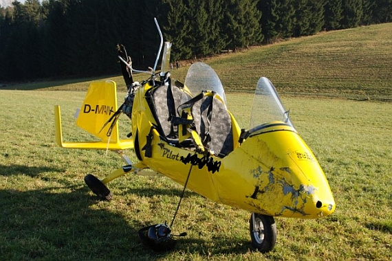 Gyrocopter-Crash in Oberösterreich fordert zwei Verletzte ...