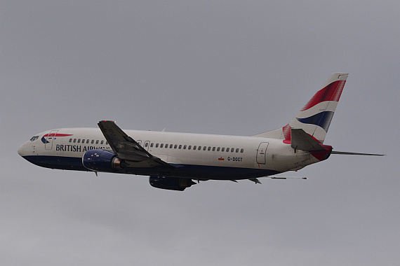 British Airways Boeing 737-400 G-DOCT Foto PA Austrian Wings Media Crew
