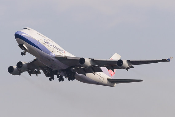 China Airlines Boeing 747-400 B-18207_2 Foto Markus Dobrozemsky