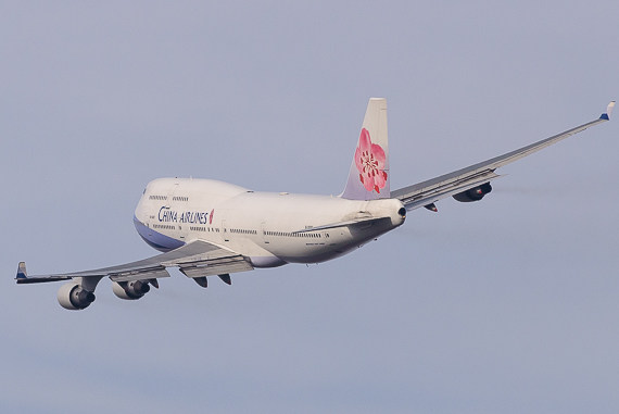 China Airlines Boeing 747-400 B-18207_5 Foto Markus Dobrozemsky
