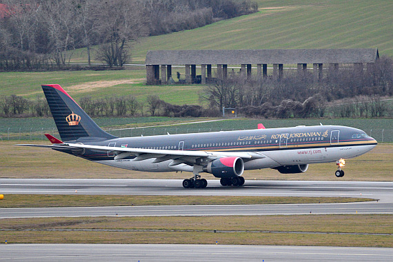 Royal Jordanian Airbus A330-200 JY-AIF Start Piste 29_1 Foto PA Austrian Wings Media Crew
