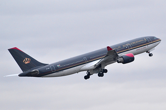 Royal Jordanian Airbus A330-200 JY-AIF Start Piste 29_3 Foto PA Austrian Wings Media Crew
