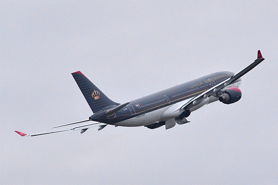 Royal Jordanian Airbus A330-200 JY-AIF Start Piste 29_4 Foto PA Austrian Wings Media Crew